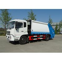 Quality 5 Ton Left Hand Waste Compactor Truck ,  14m3 Garbage Collection Truck for sale