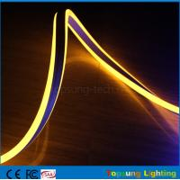 Buy cheap yellow color mini size neon led christmas lights 8.5*18mm double-sided neon flex lights from wholesalers