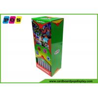 Point Of Sales Retail Packaging Boxes Balls Promotion 8.75x6.5x20 Inch CDU059