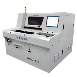 China Ceramic / Glass UV Laser Cutter Precise Control JG18 , Cutting Circuit Board on sale