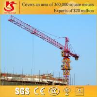 Quality Chinese rail tower craneQTZ50,tower crane power cable for sale