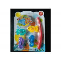 Quality Kids Magnetic Fishing Game Set With Adorable Sea Horses And Fishing Rod for sale