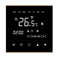 Quality IP20 Wifi Room Thermostat , Touch Screen Room Thermostat 86mm X 86mm X11mm for sale