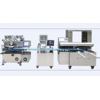 Quality Encrusting Bread Making Machine , Industrial  Bread Making Equipment Computer Control for sale