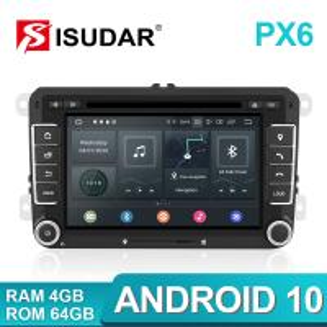 Quality Golf Tiguan Skoda Auto Radio 2 Din PX6 Volkswagen DVD Player for sale