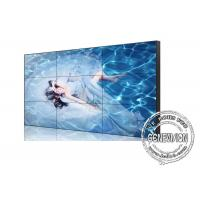 Quality 55 Inch Digital Signage Video Wall 3.5mm Super Narrow Bezel 4K UHD for government / Police for sale