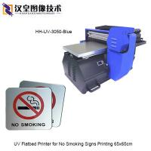 China UV Flatbed Printer for No Smoking Metal Signs Printing on sale