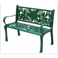 Quality Arabic Artis Cast Iron Table And Chairs / Cast Iron Garden Furniture for sale