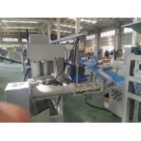 Quality Yeast twisted stick pastry line with capacity up to 1500kg/hr and 2 sets of auto.tunnel freezer for sale