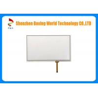Quality 4 Wire 7 Inch Resistive Touch Panel 1.4 Mm Thickness 4 Pins High Resolution for sale