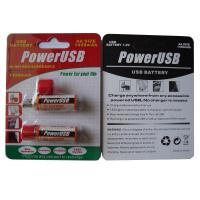 China USB-AA 1450mAh Ni-MH Rechargeable Battery on sale