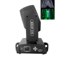 Buy cheap Black 230w 16 Channels Moving Head Beam Light With Color Touch Screen from wholesalers