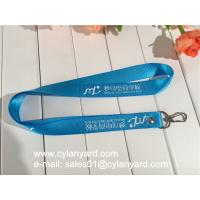 Quality Custom Designed Nylon Lanyard with logo print, Marketing Nylon Ribbon wholesale for sale