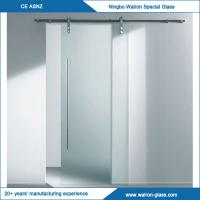 Best 2050X900X8mm Glass Sliding Door System with Different Sizes wholesale