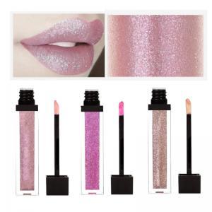 China Waterproof 20 Color Long Lasting Matte Lipstick , Liquid Lip Gloss Custom Logo on sale