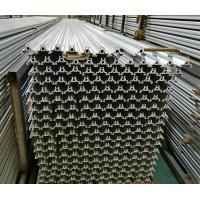 Quality Cheap price silver anodized 6063 T6 extrusion aluminum for led light t slot framing for sale