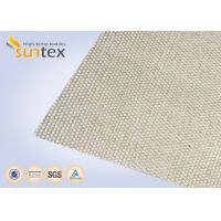 China High Silica Cloth 18oz Welding Blanket Roll High Temperature Resistant 1000C Heavy Duty on sale