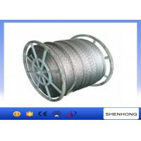 Quality 18 Strands Anti Twist Wire Rope / Galvanized Steel Wire Rope 252kN 20mm Diameter for sale