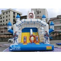 Quality Outdoor Inflatable Jumping Castle N Bounce House With Slide For Sale From China Factory for sale
