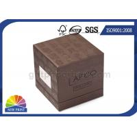 Best Soy Ink Printing Chipboard Box Packaging Front Window 3-Piece Rigid Gift Box wholesale
