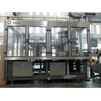 Quality Complete Bottled Water Production Lines , Carbonated Beverage Filling Machine  for sale