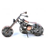 China Metal Harley motorcycle table & home decoration crafts on sale