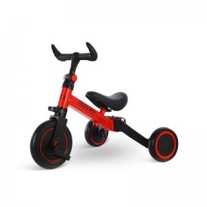 Quality 2020 New Model High Carbon Steel 3 in 1 Children Tricycle Toy Kids Tricycle 1.2-4 Ages Red Color for sale