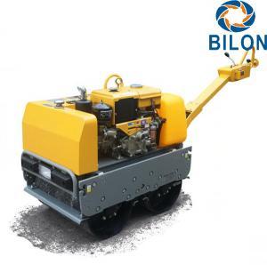 Quality 600-700KG Gasoline Diesel Walk Behind Roller Engine Power 13HP CE Certificated for sale