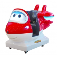 Quality Theme Park Arcade Kids Ride Game Machine Super Wing Jett for sale