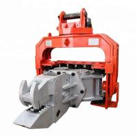 Quality High Efficiency Hydraulic Pile Hammer Changeable Gear For Sheet Piles Pulling for sale