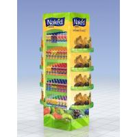 Best Printed MDF Shelf Bracket Wooden Display Stands For Supermarket Finish With Paint wholesale