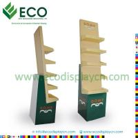 Best Retail Supermarket Floding Cardboard Floor Display Stand, Corrugated Cardboard Display Shelves wholesale