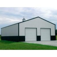 Quality Customized Design PEB Metal Buildings Easy Construction Erection Size 300