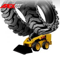 Quality APEX Skid Loader Solid Tire for 12, 15, 16, 18, 20, 24, 25 inch Solid Cushion Tyre for sale