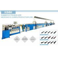 China Microwave Continuous Vulcanization Line 83KW With Single Extruder Head on sale