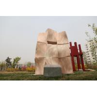 Quality Landscape sculpture with Natural stone for city for sale