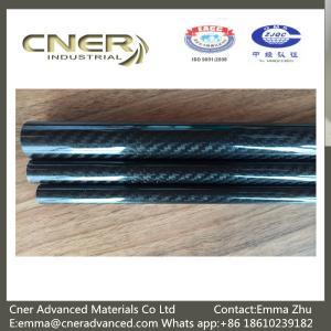100% Carbon 3K Twill/Plain glossy carbon fiber pipes; carbon fiber tubing; Carbon Fiber tubes