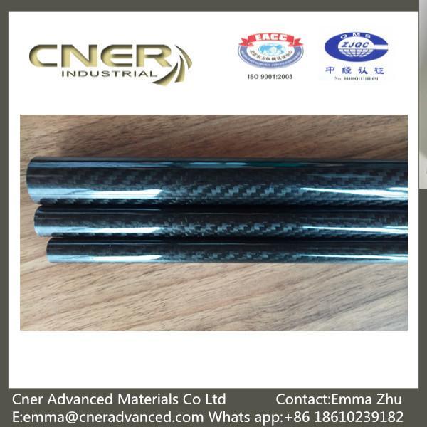 Buy 100% Carbon 3K Twill/Plain glossy carbon fiber pipes; carbon fiber tubing; Carbon Fiber tubes at wholesale prices