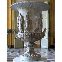 Quality White Marble Flowerpot for building for sale