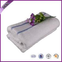 Quality 100% cotton border soft white face towel on sale for sale