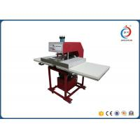 Quality Hydraulic Dual Station Cloths T Shirt Printing Machine / Sublimation Heat Press Machine for sale