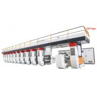 Quality Gravure Plastic Printing Machine , Plastic Cover Printing Machine 1300 Mm Max Width for sale