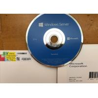 Quality Genuine Windows Server 2016 Editions , Microsoft Windows Server 2016 CD Activation for sale