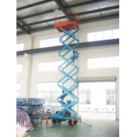 Quality Motorized scissor lift with loading capacity 500Kg and 9M Lifting Height and Extension platform for sale
