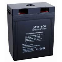 Quality 600ah 2v GFM600 storage power supply, 12v Sealed Lead Acid Batteries for security systems for sale