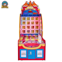 Quality Three People arcade Pitching Ball Coin Operated Game Machine for sale