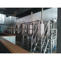 50 HL Commercial Micro Beer Brewing Equipment With Steam Heating