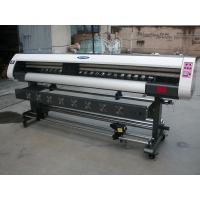 Quality 1.8m Low Cost 1440dpi High Precision Eco Solvent Inkjet Printer Machine for flex vinyl PP printing for sale