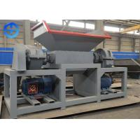 China 22 KW PLC control light duty double shaft shredding machine metal shredder on sale