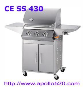 China Three Burners Gas Barbecue on sale